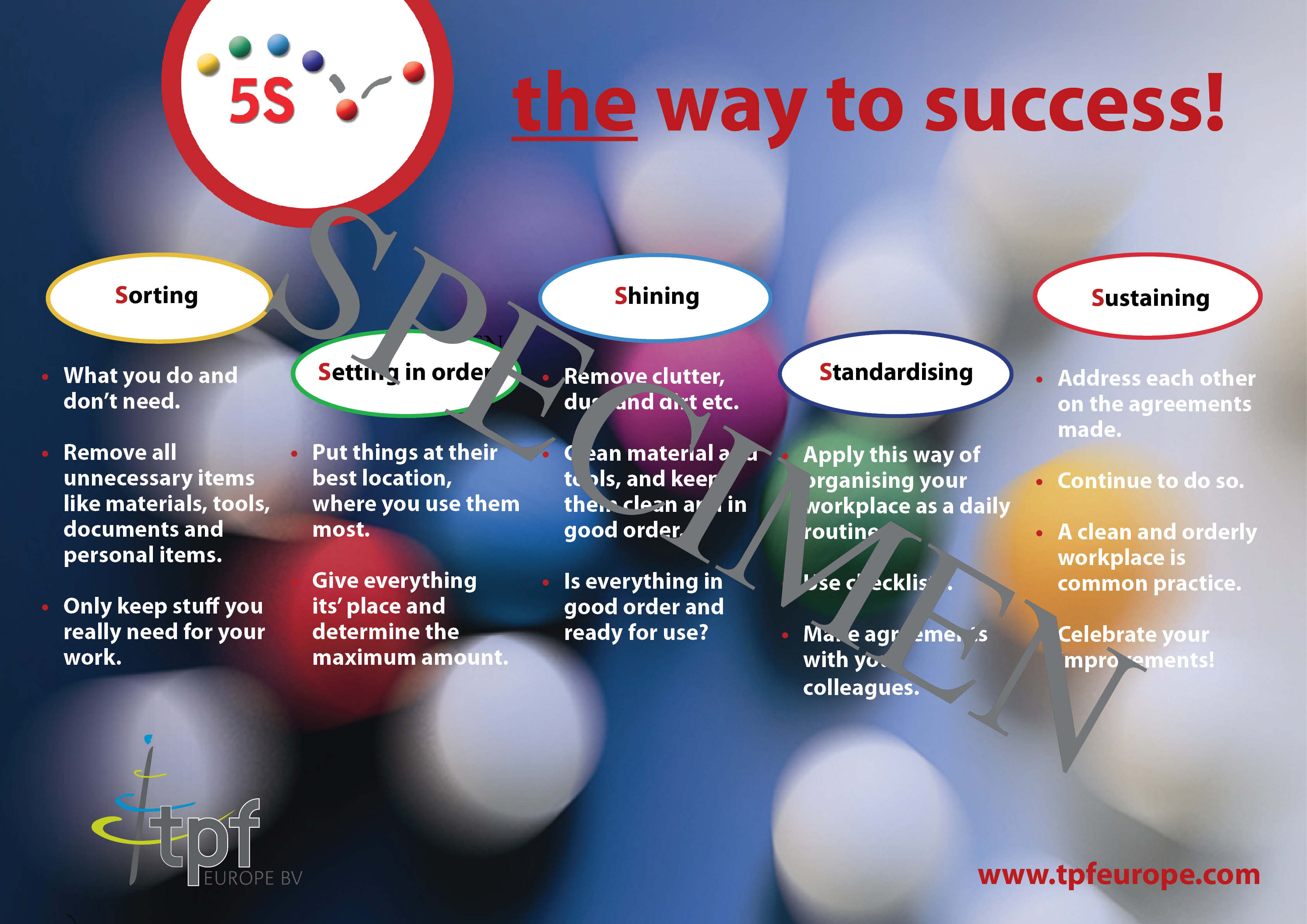 5S Poster English (size: A1)